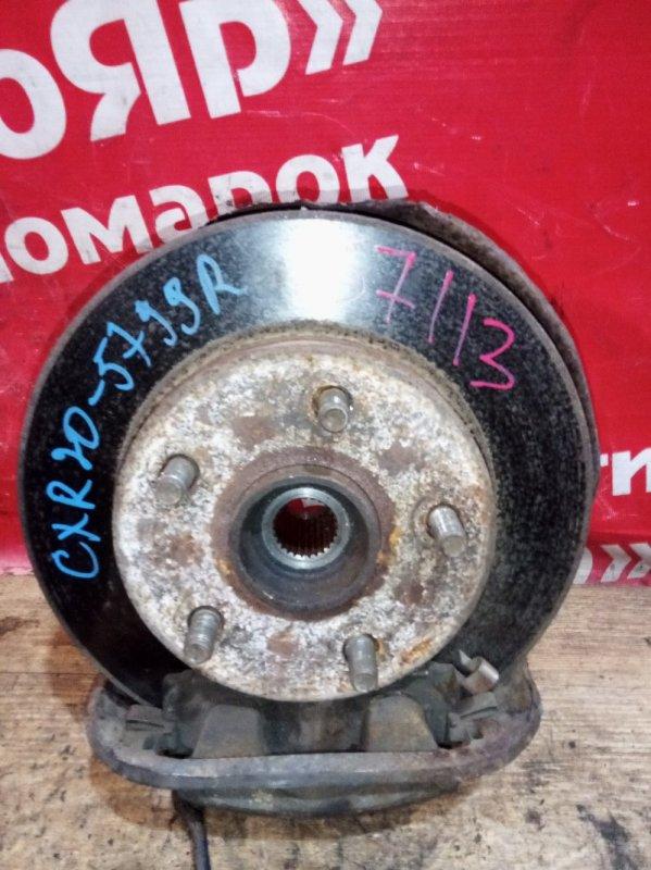 Диск тормозной Toyota Estima Emina CXR20G 3C-TE 07.1996 передний правый