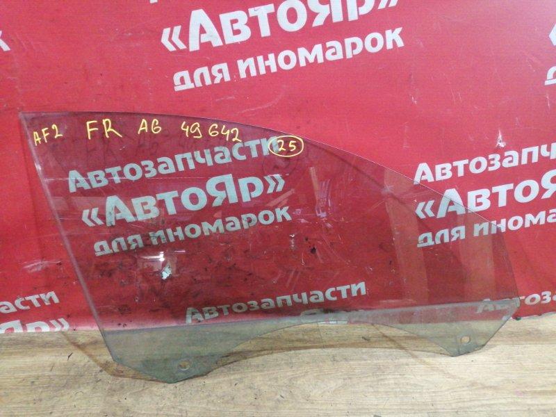 Стекло боковое Audi A6 4F2 AUK 2005 переднее правое
