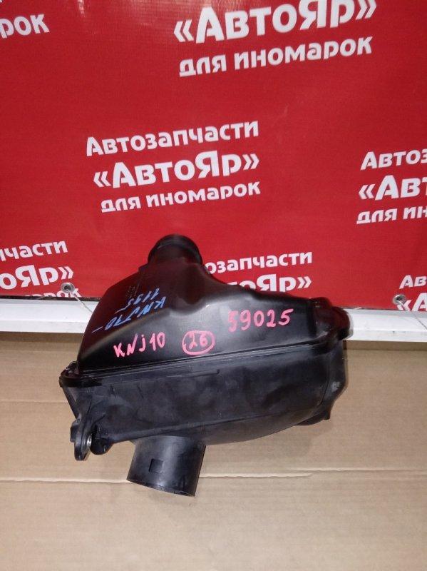 Корпус воздушного фильтра Nissan Qashqai KNJ10 MR20DE 03.2008 дефект на фото
