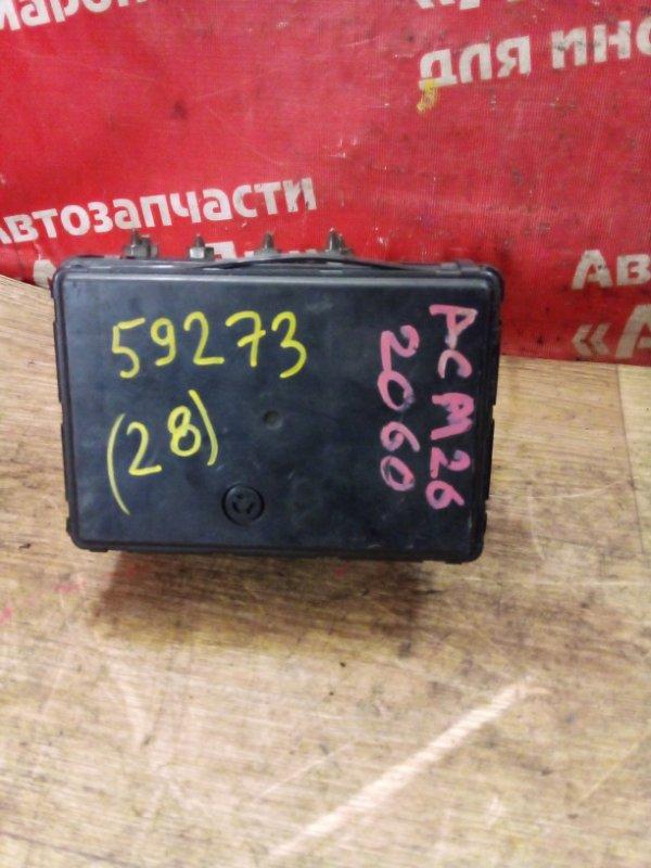 Блок abs Toyota Ipsum ACM26W 2AZ-FE 11.2002 44510-44060 повреждена крышка