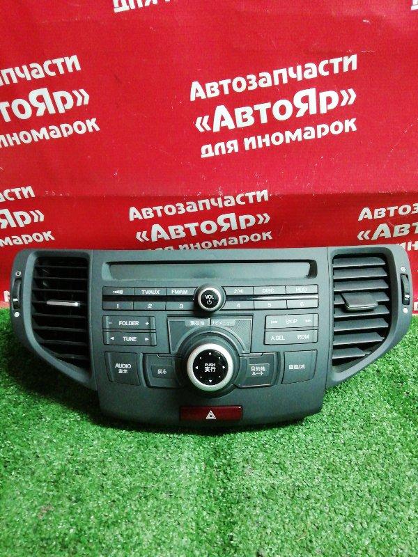 Магнитола Honda Accord CU2 K24A 11.2008 39050-tl3-j01