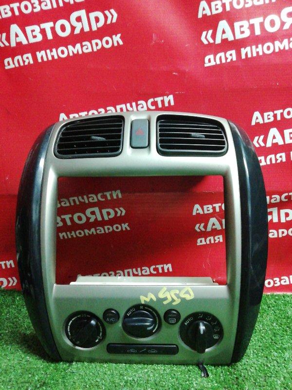Рамка магнитофона Mazda Familia BJ5W ZL-VE 07.2001 + климат