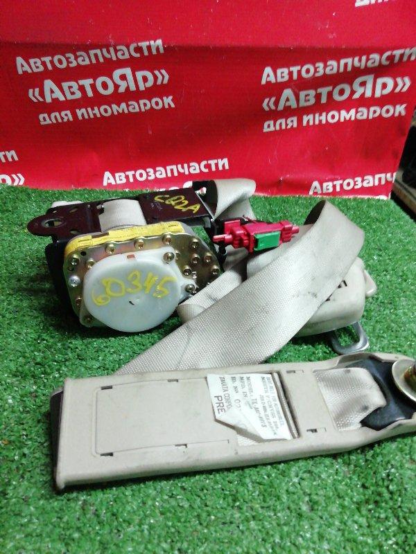 Ремень безопасности Mitsubishi Dingo CQ2A 4G15 02.1999 передний левый