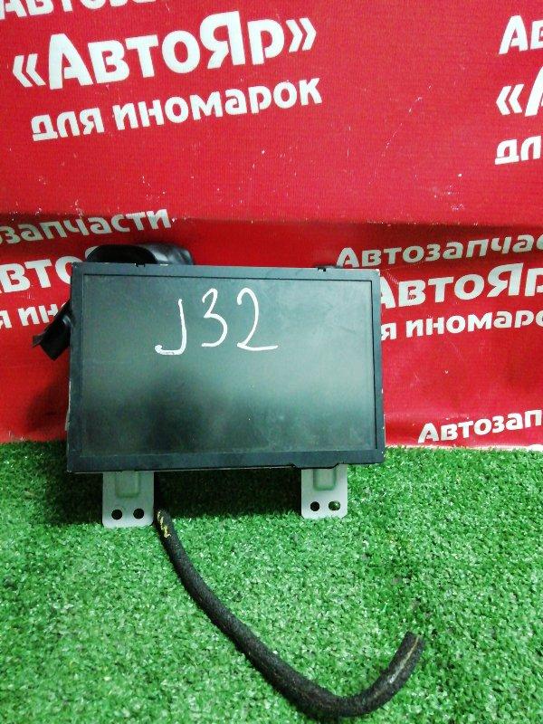 Монитор Nissan Teana J32 VQ25DE 07.2008 28091 jk01b