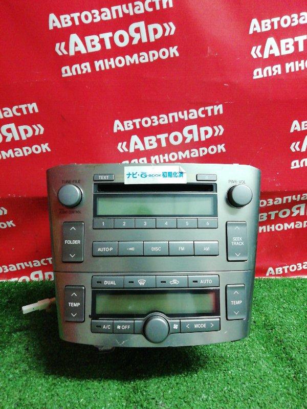 Магнитола Toyota Avensis AZT250W 1AZ-FSE 01.2007 86120-20a40 + климат 55902-05060