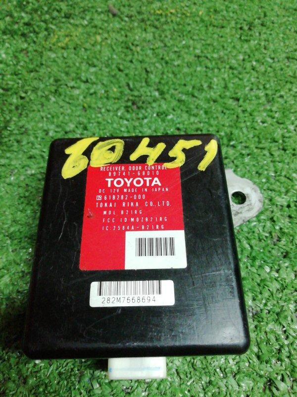 Блок управления дверьми Toyota Wish ZNE14G 1ZZ-FE 07.2006 89741-68010