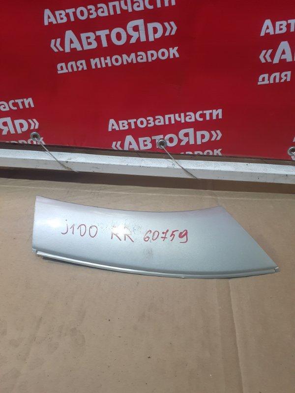 Накладка на крыло Daihatsu Terios J102G K3-VE 02.2001 задняя правая 75873-87401