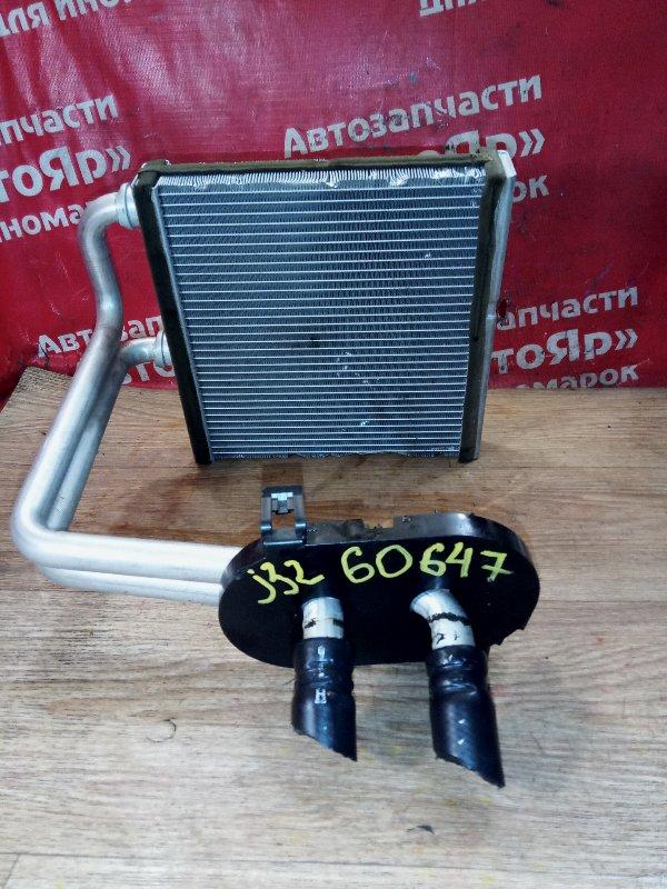 Радиатор печки Nissan Teana J32 VQ25DE 07.2008