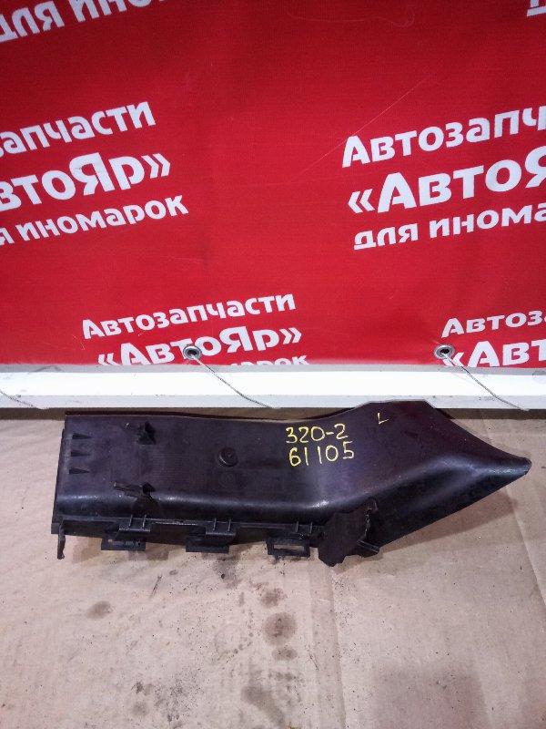 Воздухозаборник Bmw 323I E90 N52B25A 10.2005 левый 5174-7121569 охлаждения тормозного диска