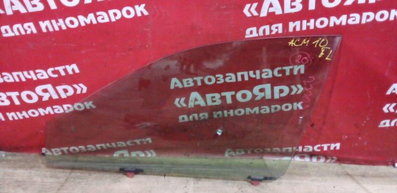 Стекло боковое Toyota Gaia ACM10G 1AZ-FSE 2002 переднее левое