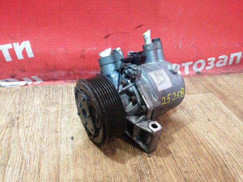 Компрессор кондиционера Nissan March K13 HR12DE 2011 92600-1HC1A