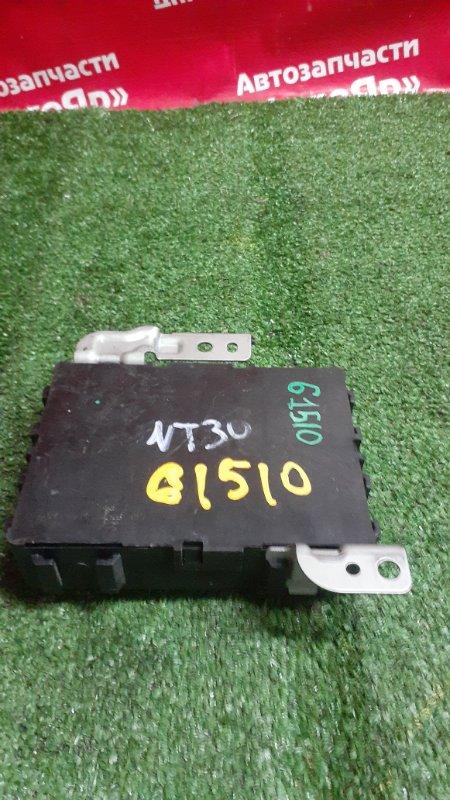 Блок управления Nissan X-Trail NT30 QR20DE 07.2005 285g0eq000