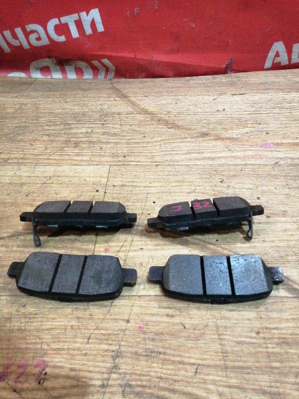 Тормозные колодки Nissan Teana J32 VQ25DE 07.2008 заднее Комплект.