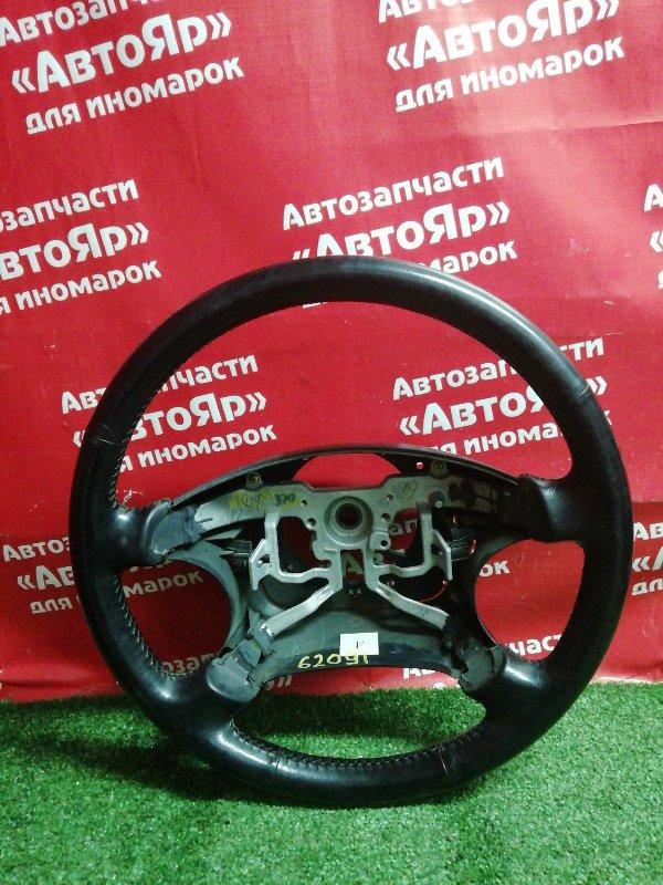 Руль Toyota Ipsum ACM26W 2AZ-FE 11.2002 Кожа.