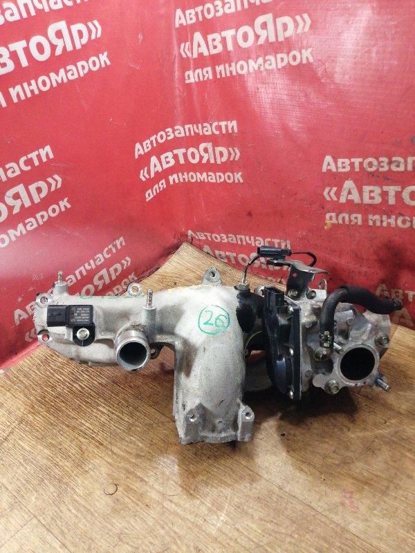 Заслонка дроссельная Mazda Cx-5 KE2AW SH-VPTS 03.2012 SH01-20-300A, с коллектором впуск