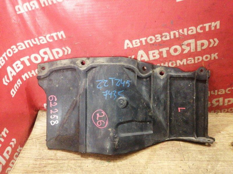Защита двигателя Toyota Premio ZZT245 1ZZ-FE 02.2005 передняя левая