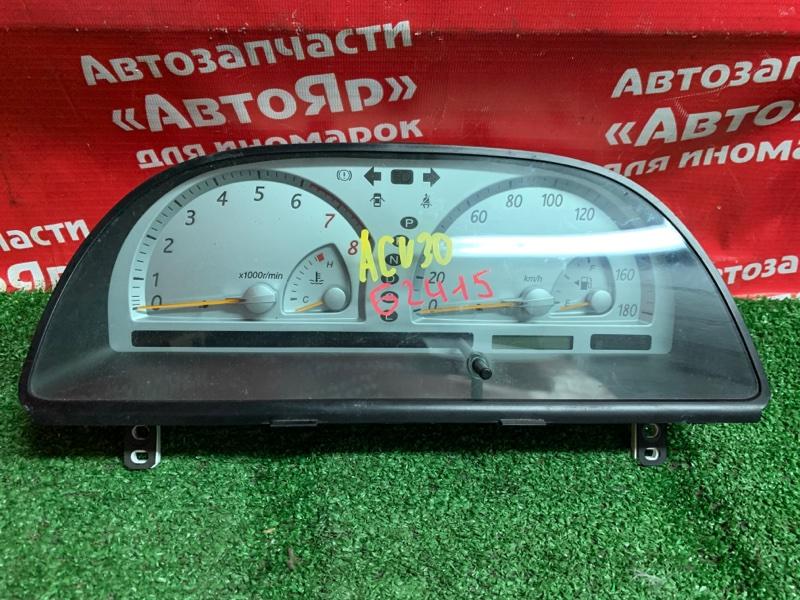 Комбинация приборов Toyota Camry ACV30 2AZ-FE 83800-0w150