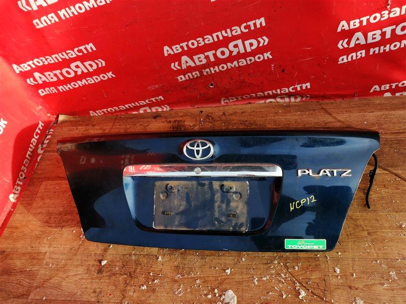 Крышка багажника Toyota Platz NCP12 1NZ-FE 2005 2 модель