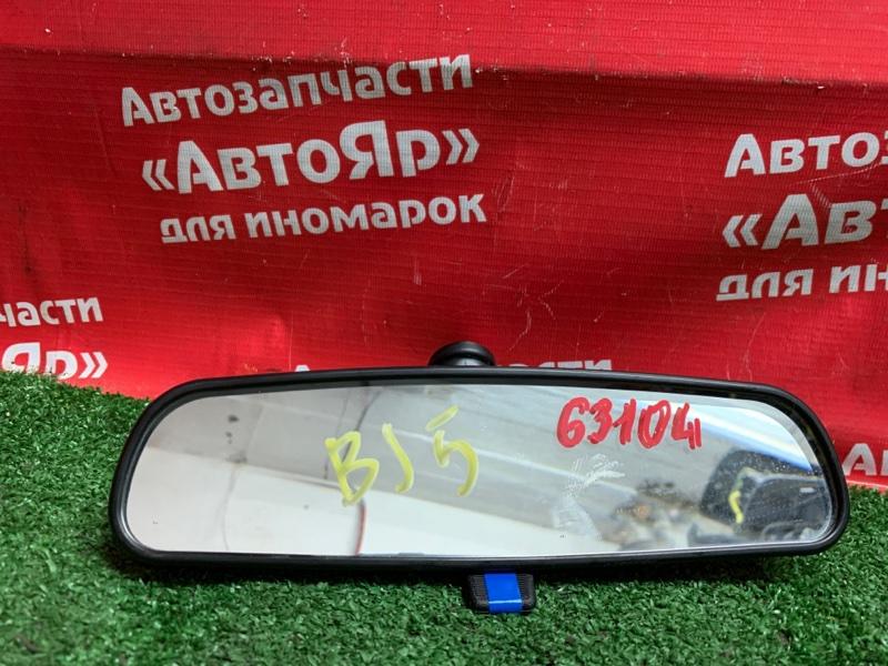 Зеркало салонное Mazda Familia BJ5W ZL-DE 10.2002 с креплением к стеклу