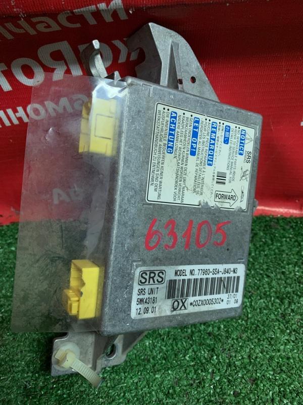 Блок управления airbag Honda Civic Ferio ES1 D15B 2001 77960-s5a-j840