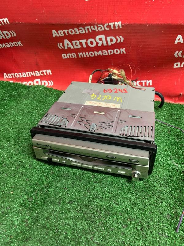 Магнитола Subaru Traviq XM220 Z22 2002 Panasonic CY-TVD9200D