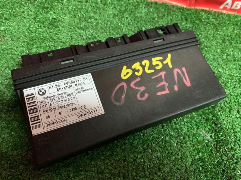 Блок управления Bmw 530I E60 N52B30A 03.2005 6969011