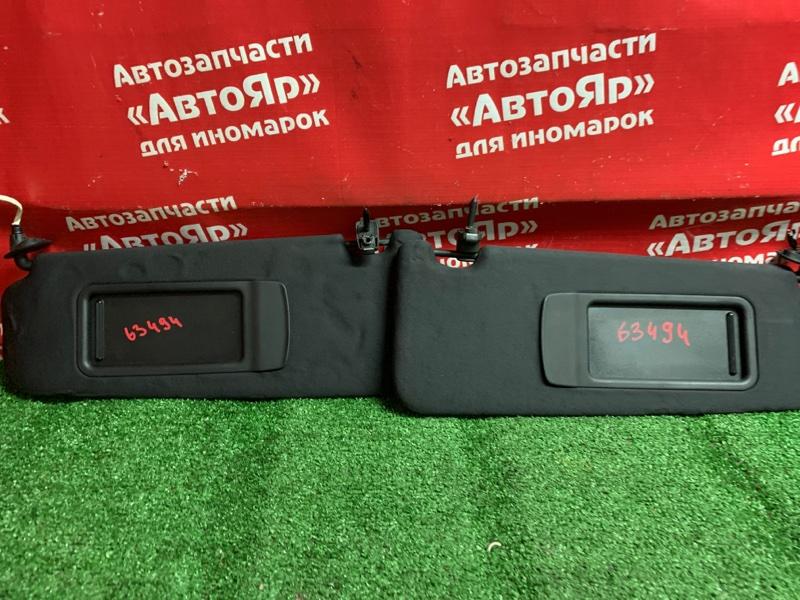 Солнцезащитный козырек Bmw 323I E90 N52B25A 01.2006 комплект 2шт, левое зеркало дефект.