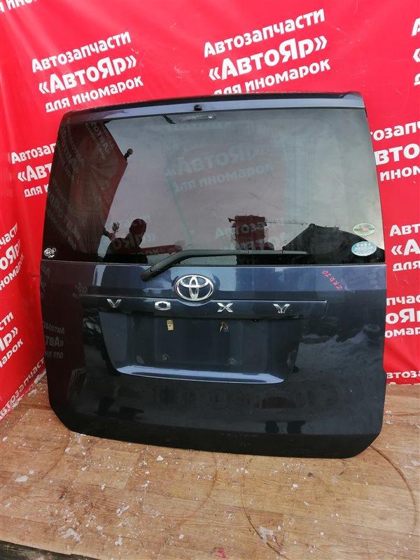 Дверь задняя Toyota Voxy ZRR70G 3ZR-FE 11.2007 задняя в сборе