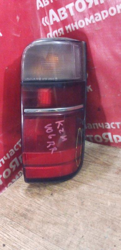 Стоп-сигнал Toyota Hiace KZH106W 1KZ-TE 09.1993 задний правый 26-46, скол