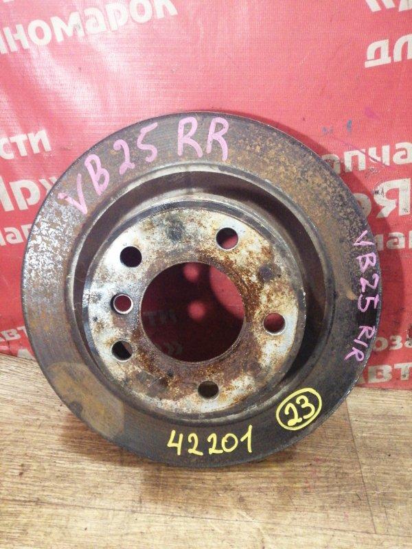 Диск тормозной Bmw 325I E90 N52B25A 03.2005 задний правый 34216855004 / 34216855007 диаметр 300мм.