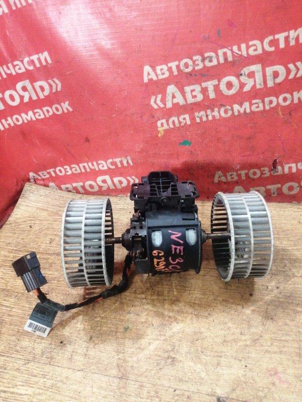 Вентилятор (мотор отопителя) Bmw 530I E60 N52B30A 03.2005 3конт. правый руль