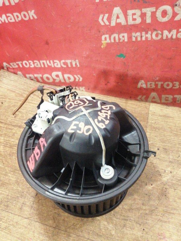 Вентилятор (мотор отопителя) Bmw 323I E90 N52B25A 01.2006 3конт, дефект креплений