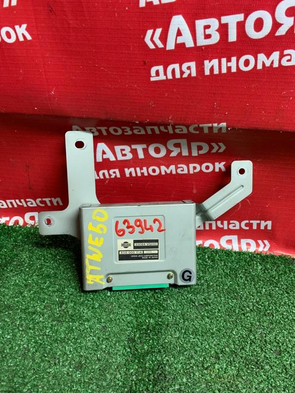 Блок управления Nissan Elgrand ATWE50 ZD30DDTI 10.1999 33084VG100