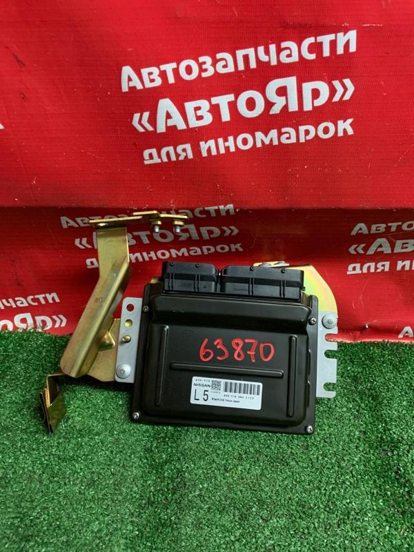 Блок управления efi Nissan X-Trail NT30 QR20DE 02.2005 A56-Y16 UW3 5129