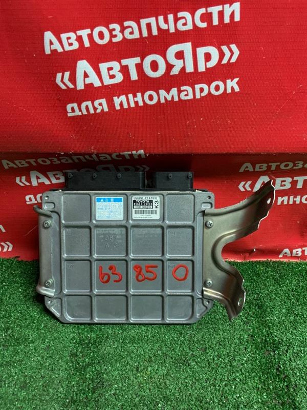 Блок управления efi Toyota Voxy ZRR70G 3ZR-FE 11.2007 89661-28c60. 212000-3560