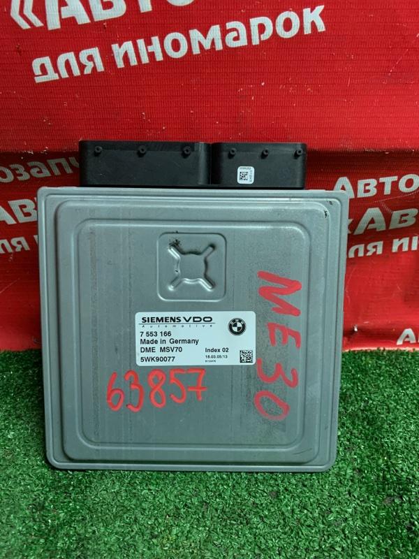 Блок управления efi Bmw 530I E60 N52B30A 03.2005 7553166