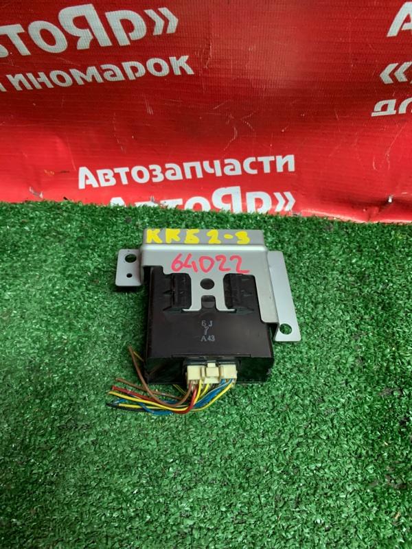 Блок управления кондиционером Toyota Liteace Noah KR52V 7K-E 07.2005 88650-28680