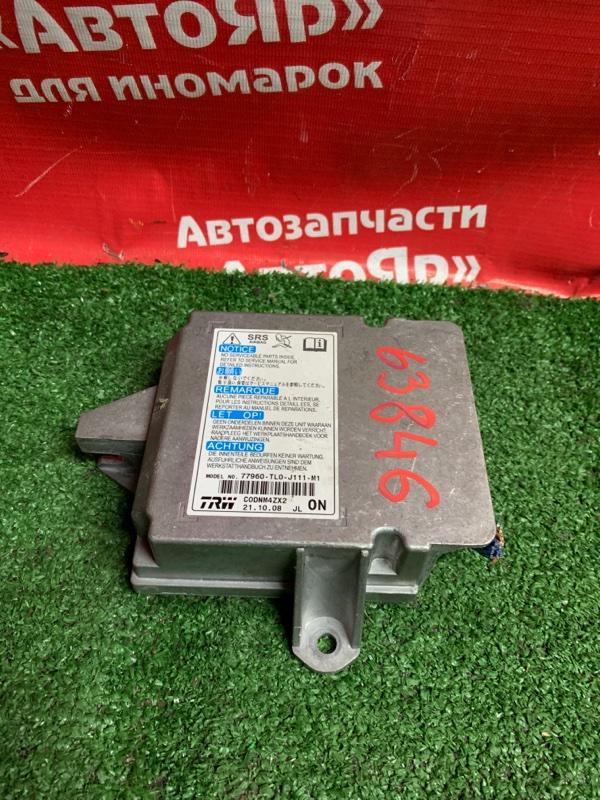 Блок управления airbag Honda Accord CU2 K24A 2008 77960-TLO-J111-M1