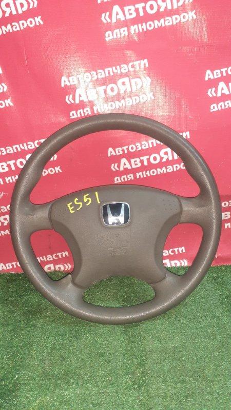 Руль Honda Civic Ferio ES1 D15B 2003 с зарядом, в сборе с AIRBAG