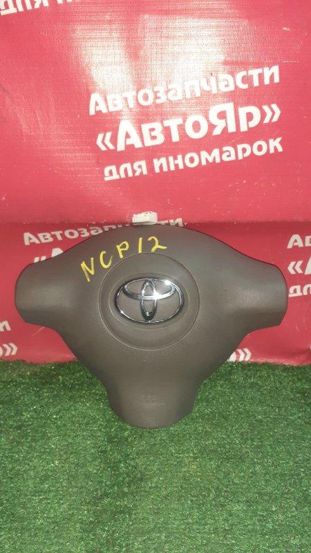 Airbag Toyota Platz NCP12 1NZ-FE 2005 коричневый, вторая модель.