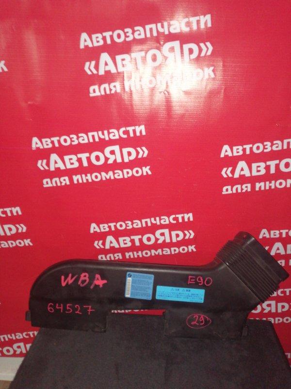Воздухозаборник Bmw 323I E90 N52B25A 01.2006