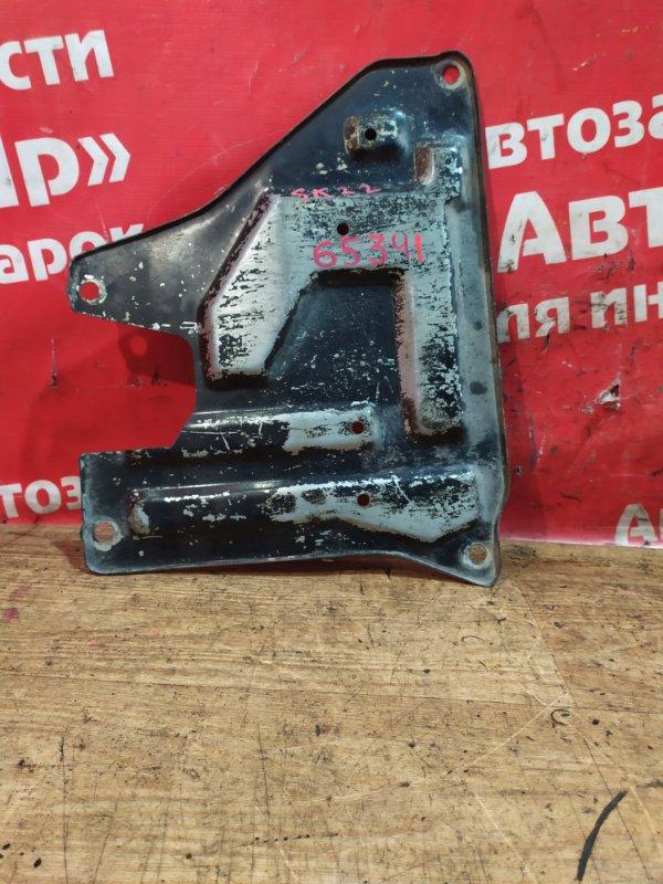 Защита двигателя Mitsubishi Delica SK22MM R2 2001 передняя металическая