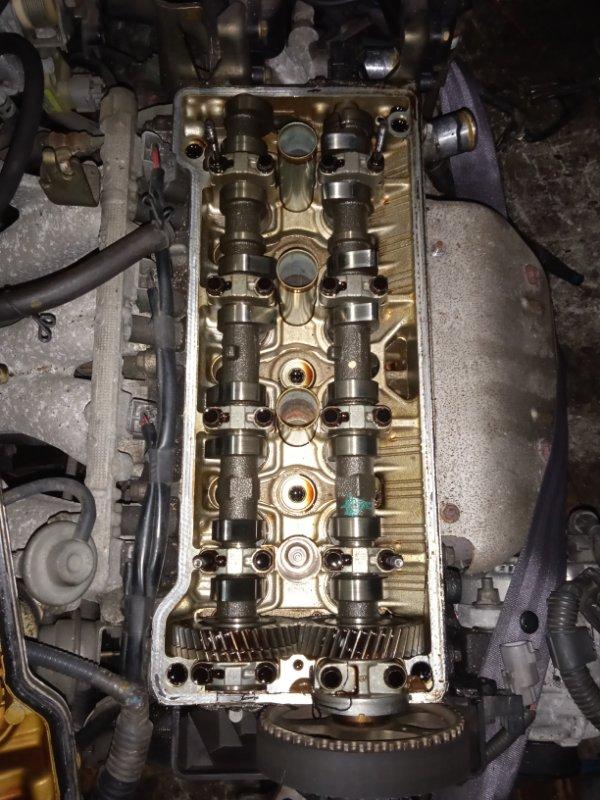 Двигатель Toyota Caldina AT191G 7A-FE 07.1996 Катушечный, цена без навесного, пробег 91т.км.,