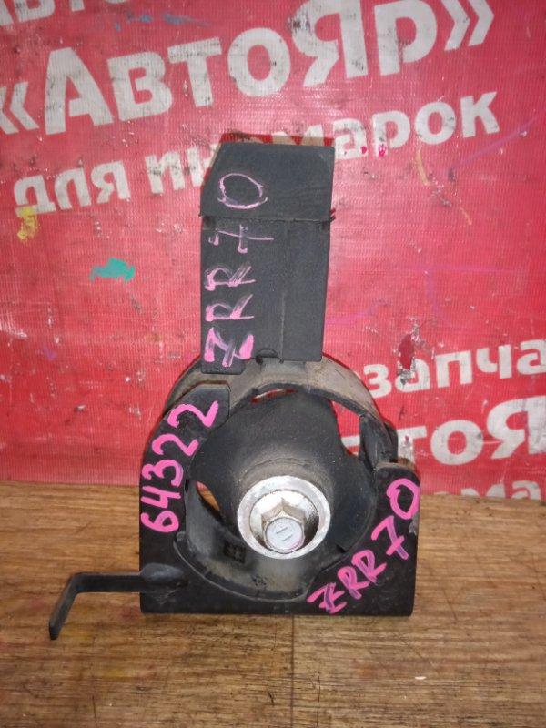 Подушка двигателя Toyota Voxy ZRR70G 3ZR-FE 11.2007 передняя 12371-37030