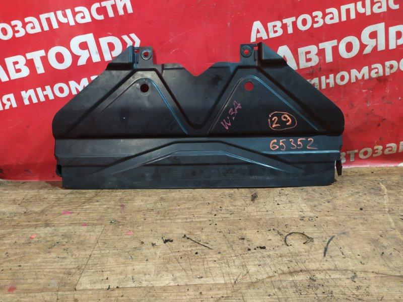 Защита двигателя Bmw 323I E90 N52B25A 01.2006 передняя 51.75 7 128 503 защита радиатора