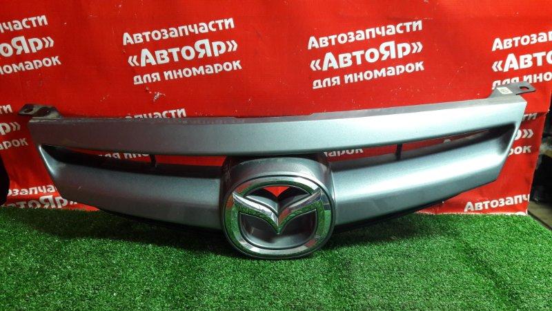 Решетка радиатора Mazda Atenza GG3S L3-VE 10.2006 2-я модель, Sport, дефект крепления.