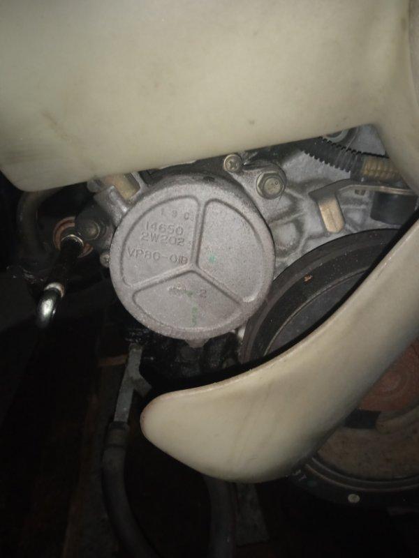 Насос вакуумный Nissan Elgrand ATWE50 ZD30DDTI 09.2001 14650-2W202