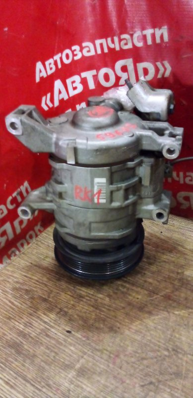 Компрессор кондиционера Honda Stepwgn RK1 R20A 2009 447280-1262