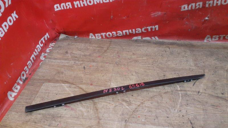 Молдинг лобового стекла Bmw 530I E60 N52B30A 03.2005 передний левый