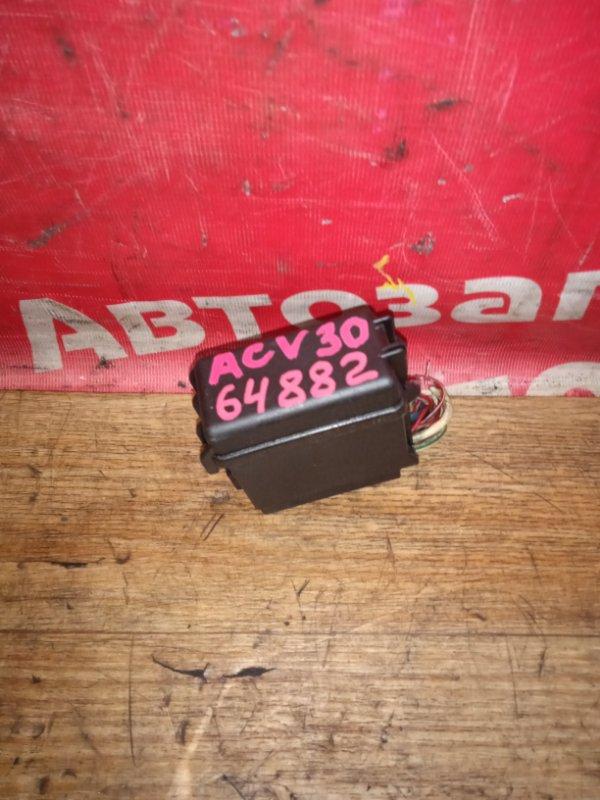 Блок предохранителей Toyota Camry ACV30 2AZ-FE 10.2003 маленький